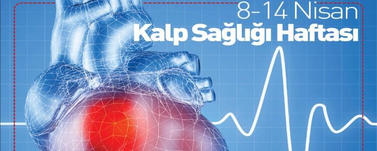 8-14 Nisan Kalp Sağlığı Haftası